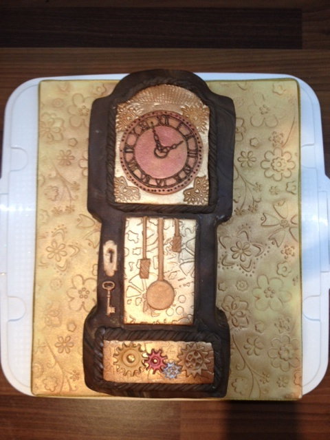 My Grandfather Clock Cake Clock Cakes Cupcakes Cookies