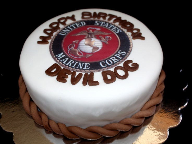 1000 Ideas About Marine Corps Cake On Pinterest Marine