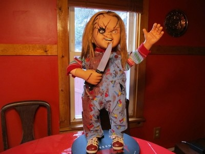 SIDESHOW SEED OF CHUCKY DOLL LIFE SIZE REPRODUCTION DOLL