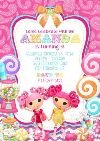Lalaloopsy Invitation Lalaloopsy Birthday by PixelPerfectShoppe, $7.00