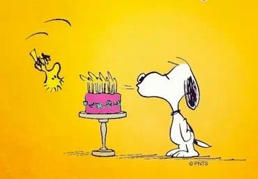 Happy Birthday Snoopy Snoopy And Woodstock Pinterest