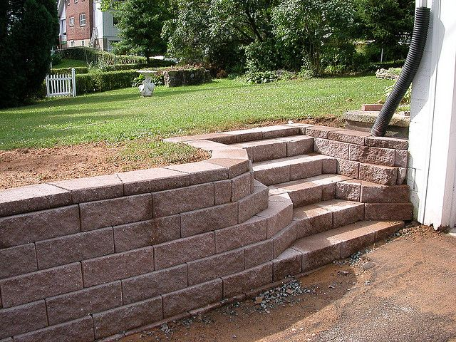 98 best images about retaining walls on pinterest on retaining wall blocks id=24750