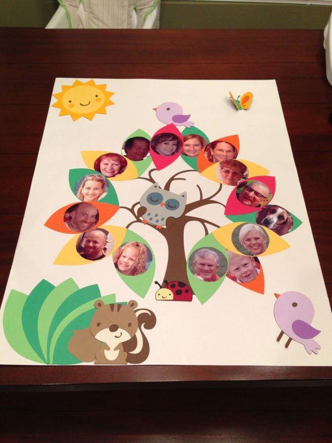 Family tree project kids pinterest family tree