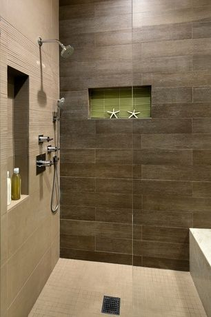 Contemporary 34 Bathroom With Marazzi Riflessi Di Legno