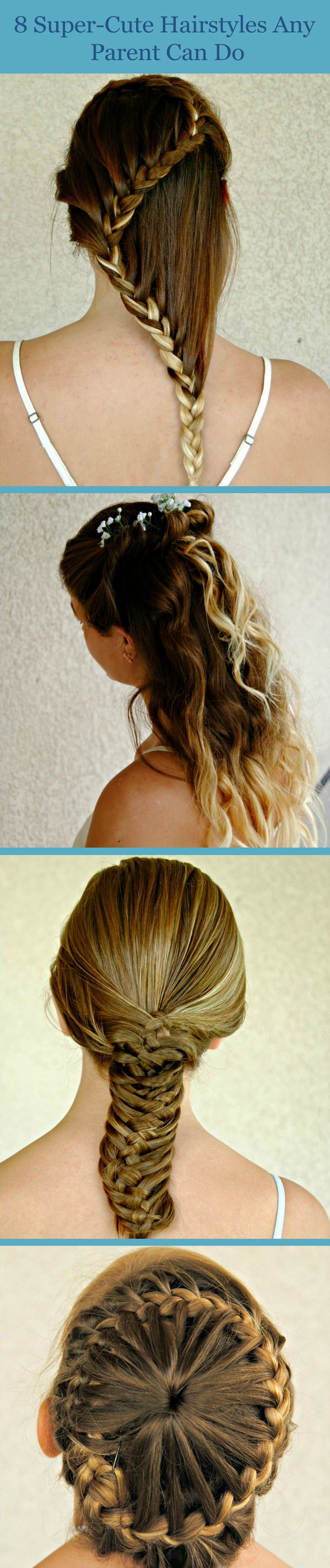 New Hairstyles Easy Kid Hairstyles And Hairstyles On