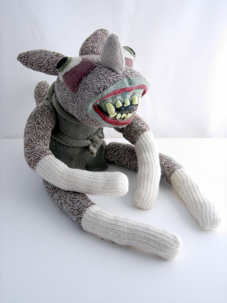 421 Best Images About Sock Monsters And Toys On Pinterest