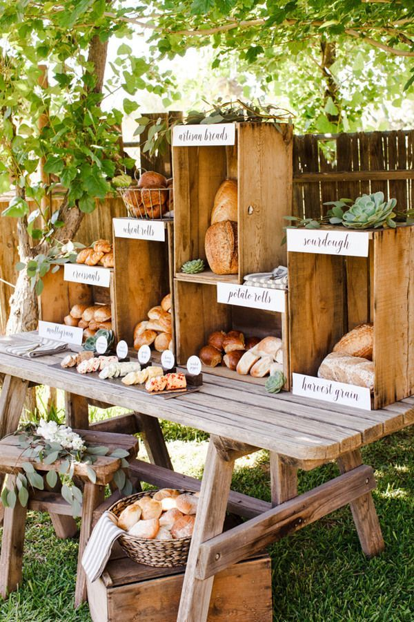 20 Creative Wedding Food Bar Ideas For Your Big Day - The Chef ...