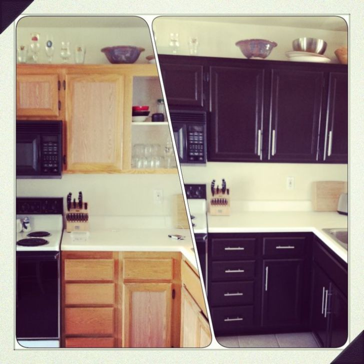 Diy Kitchen Cabinet Makeover Home Decor Want