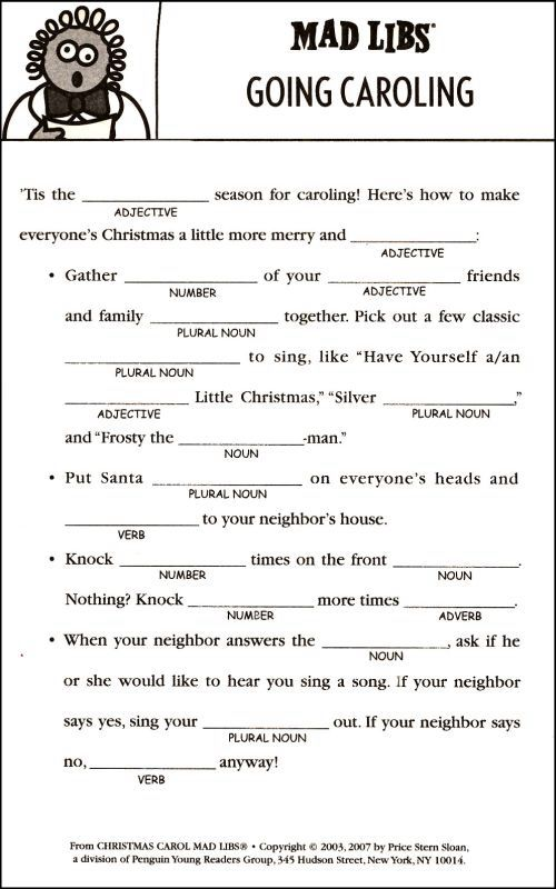 1000 Images About Mad Libs On Pinterest Parts Of Speech