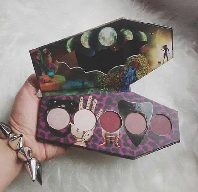 "Lunatick Cosmetics ""Supernatural"" eyeshadow palette"