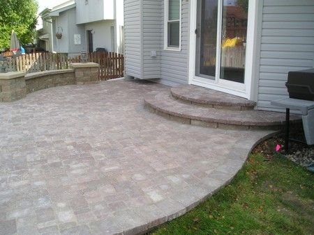 1000+ images about Back door steps on Pinterest | Wooden ... on Backdoor Patio Ideas id=93871