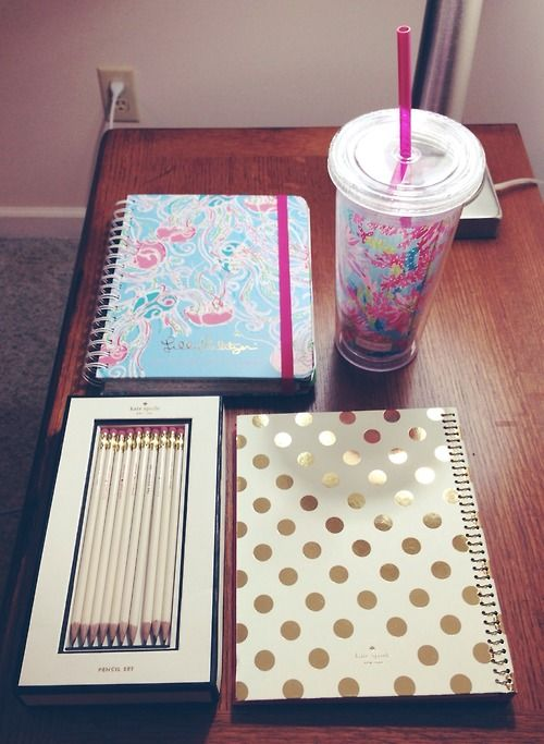Valentines Day made easy: Cute Notebooks, New Planner, Cute pens or pencils, highlighters