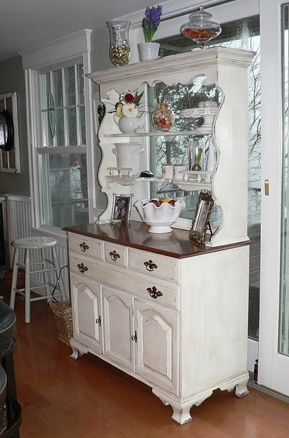 17 Best Ideas About Refurbished Hutch On Pinterest Refurbished Cabinets Furniture Redo And