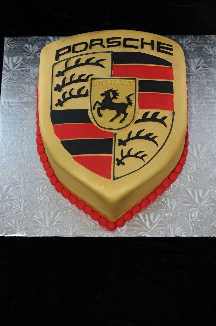Porsche Logo Cake Cakes Pinterest Cakes Porsche And