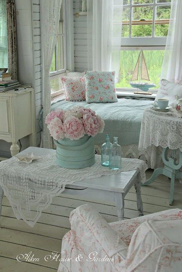 Shabby Chic Nook In The Living Room
