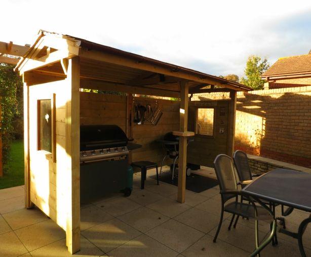 Bbq Shelter Design Build Garden Pinterest Design