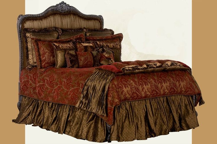 Luxury Bedding Gold Luxury Bed Set Royal Red And Gold