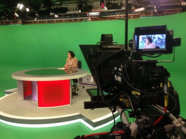 BBC News Green Screen studio (New Broadcasting House ...