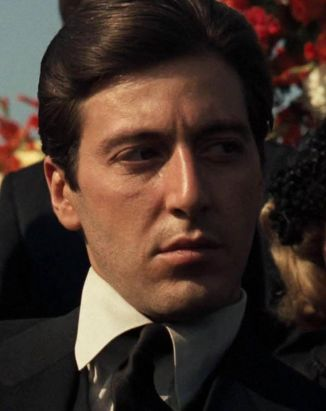 Image result for AL PACINO IN THE GODFATHER