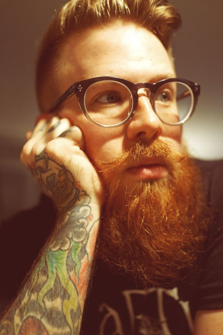 Beautiful Full Thick Long Red Beard And Mustache Beards