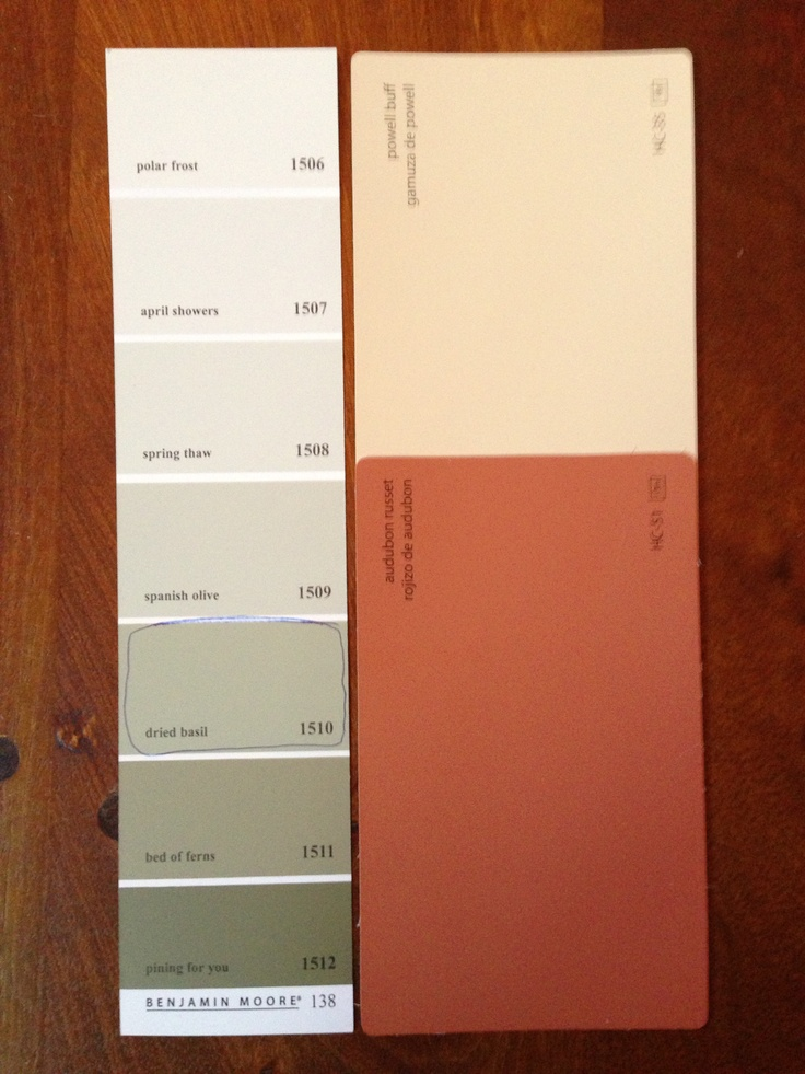 Combinations Benjamin Moore Paint