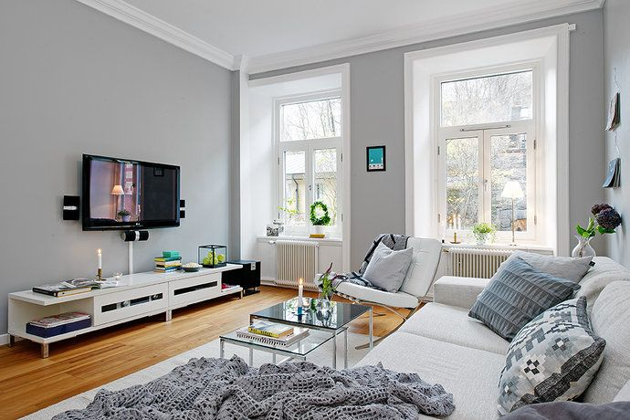 Grey Walls, Paint Colors And Colors On Pinterest