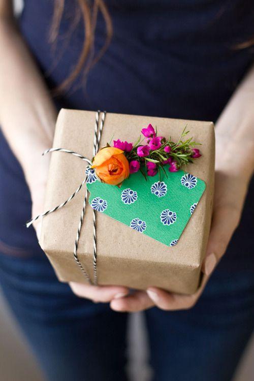regalo papel kraft