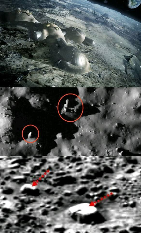 there are Bases on your Moon built by Non-Earthlings. Of ...
