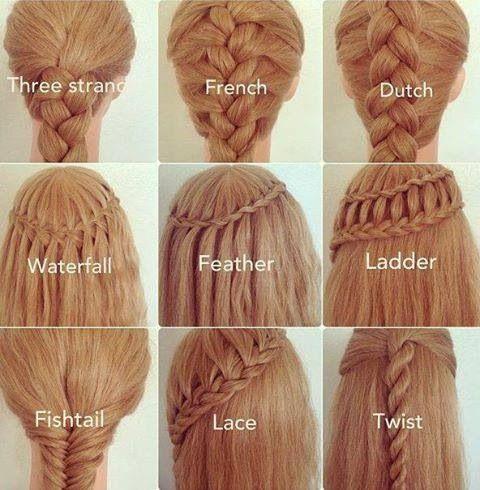 25 best ideas about different braids on pinterest types of braids different braid hairstyles
