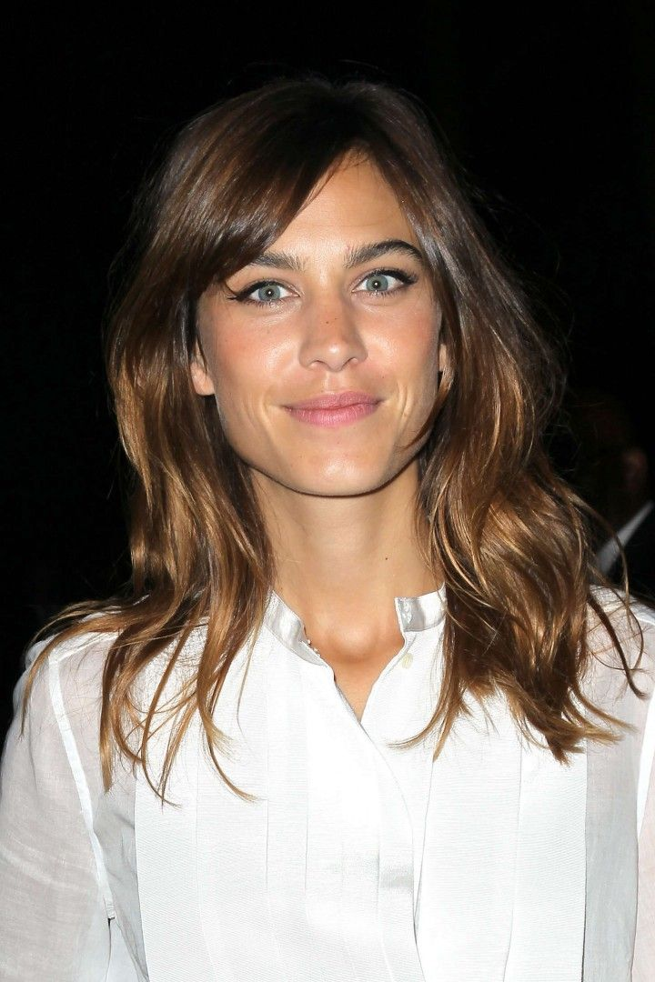 Alexa Chung Aka My Growing It Out Inspiration Long Hair