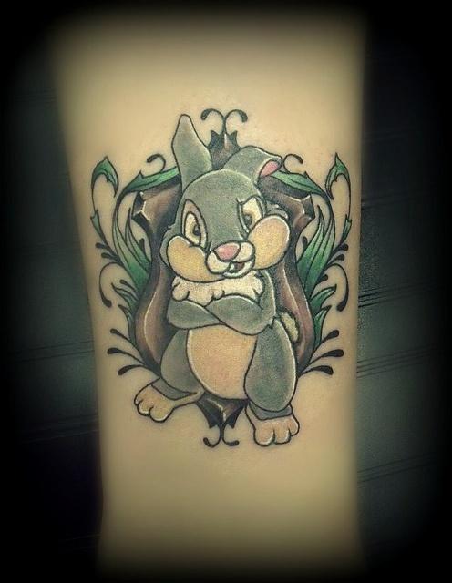 Thumper Tattoo Badass Inky Pinterest Tattoos And