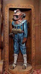 Jules Verne dive suit, Home Theater Design