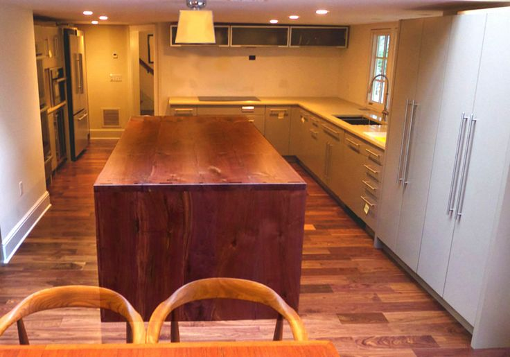 16 best images about waterfall countertops on pinterest on most popular trend gray kitchen design ideas that suit your kitchen id=80974