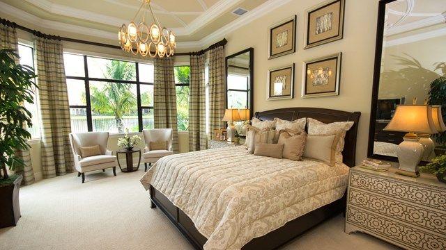 The Chantilly Model Home - Master Bedroom Elegant Neutral ... on Model Bedroom Design  id=44365