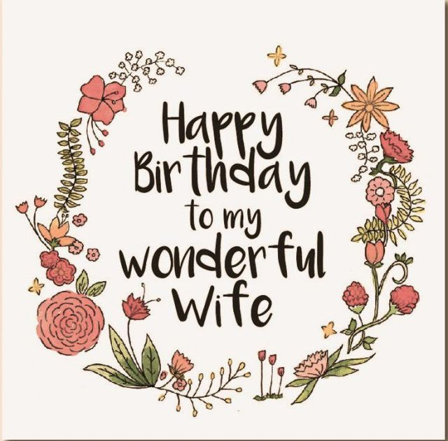 Happy birthday wife wishes quotes messages happy