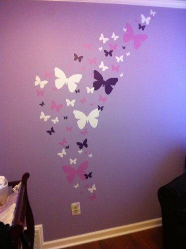 girls room decor butterflies flowers | little girls bedroom ideas: little girls