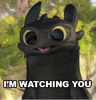 Toothless – How to Train Your Dragon