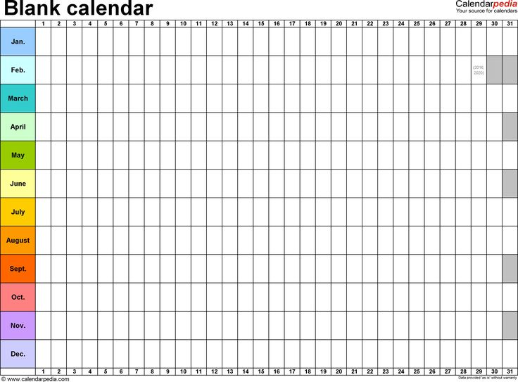 Image Result For Printable Monthly Planner Calendar
