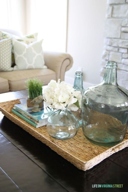"""Today I'm sharing a """"summer"""" tour of our home. I've partnered up with several bloggers for a week of fun home tours {be sure to stop by all the links at the bottom of this post}. And welcome to Life On Virginia Street if this is your first time visiting my blog! My summer planters …"""