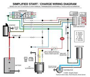 Automotive Alternator Wiring Diagram | Boat electronics
