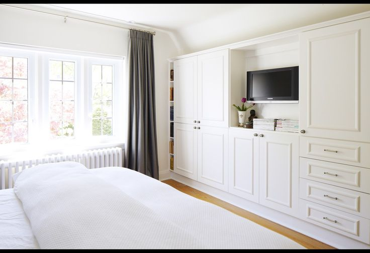 Bedroom Built-ins Via Four Houses Canada. I Would Lose Me