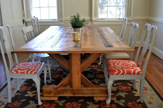 25+ Best Ideas About Barnwood Dining Table On Pinterest