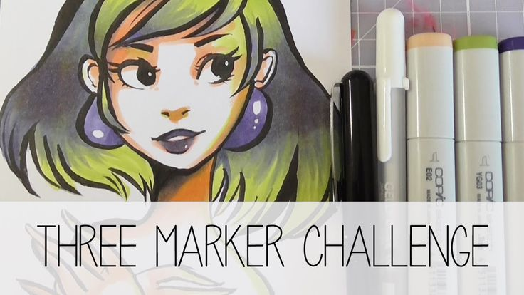 0 images about art  traditional  markers on pinterest