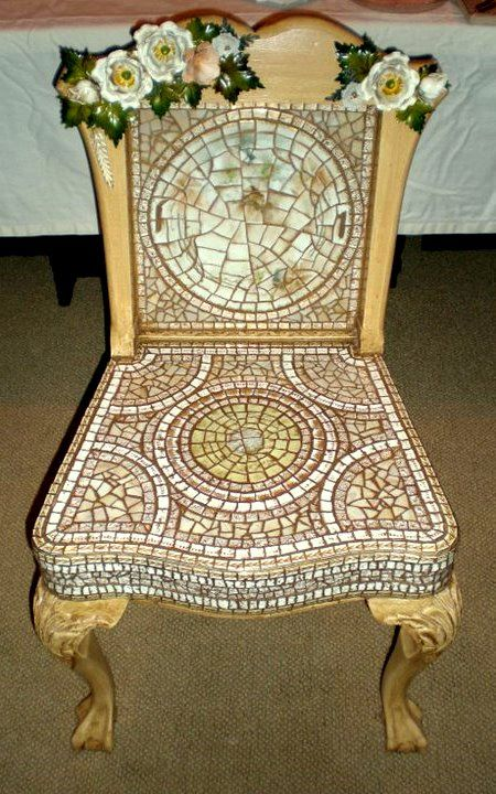 25 Best Images About Mosaic Chairs On Pinterest Hand