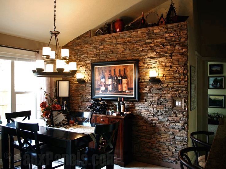 27 Best Images About Stone Accent Wall On Pinterest