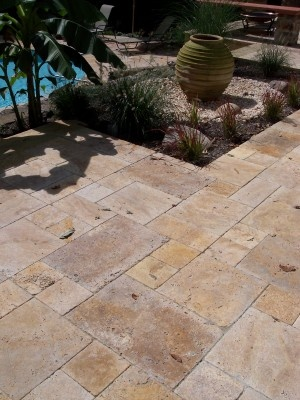 15 best images about Travertine patios on Pinterest ... on Travertine Patio Ideas id=63581