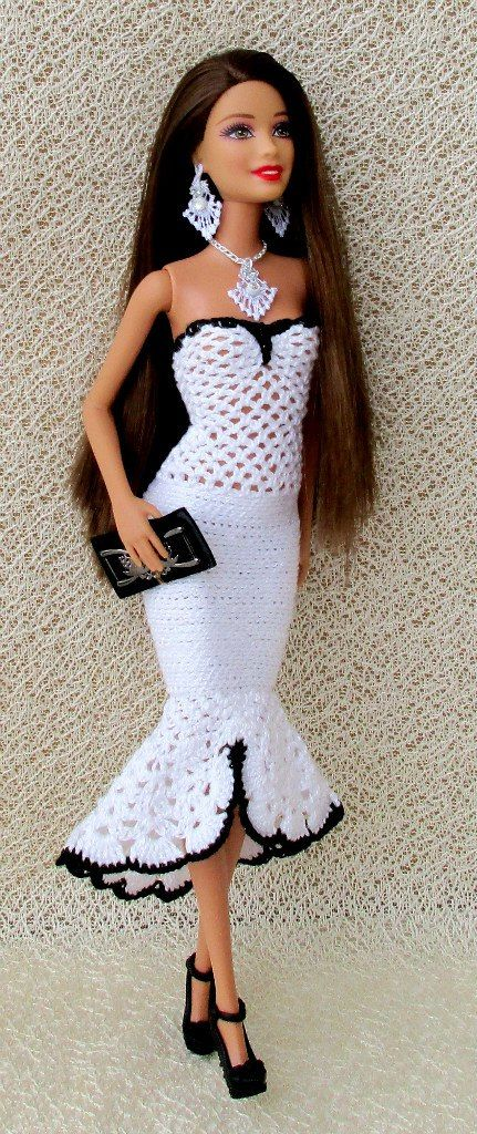 2169 Best images about Crochet Toys Barbie Clothes on ...