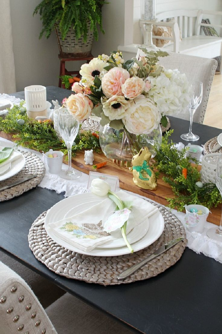 1000 Images About TableScapesTable Settings On Pinterest Tablescapes Easter Table
