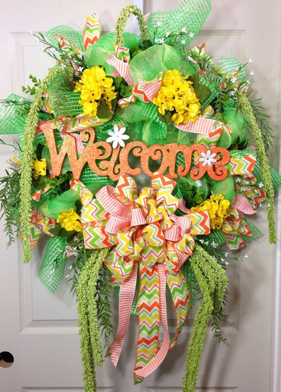 1000 Images About Wreaths On Pinterest Summer Wreath