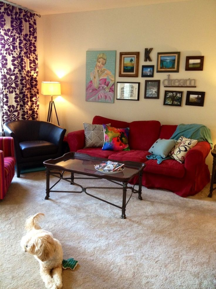 Watch living rooms from hgtv purple formal living room 03:08 purple formal living room 03:08 soft purple tones make sarah's enlarged living room formal but not fussy. 14 best images about Red couch decorating ideas on ...